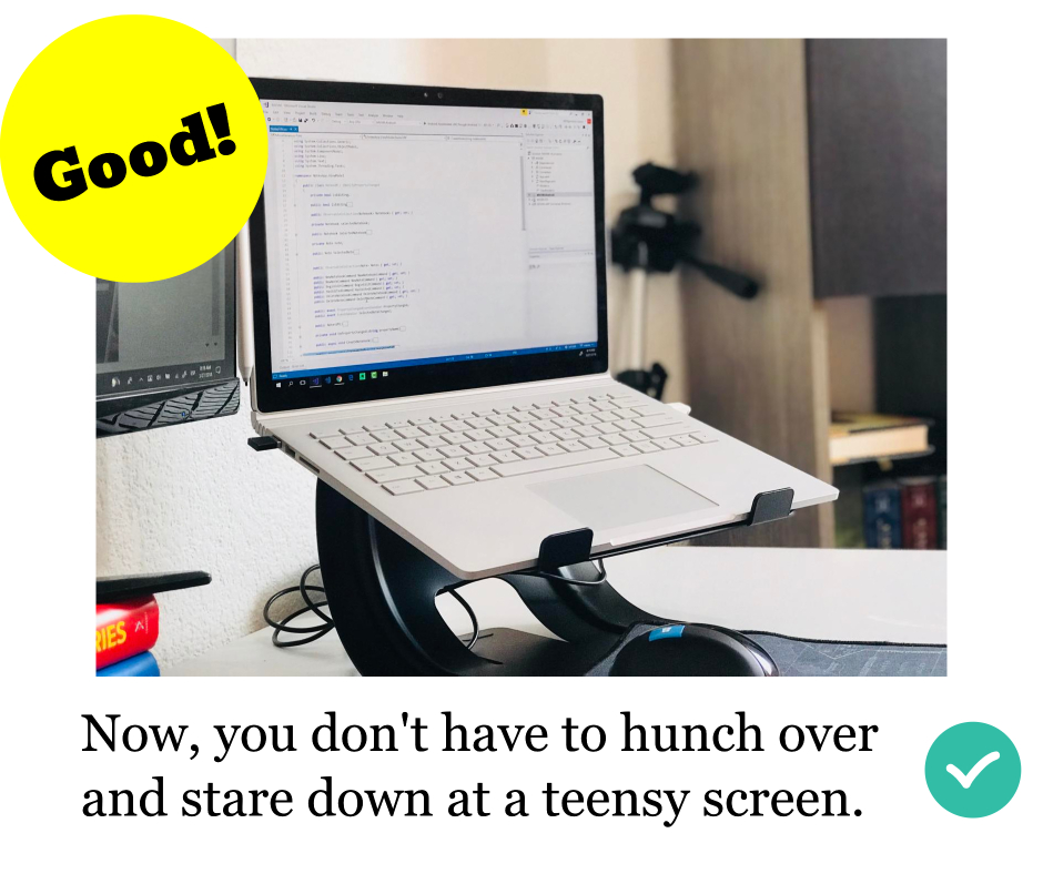 why use a laptop stand